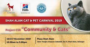 Shah Alam Cat & Pet Carnival 2019 @ Plaza Shah Alam